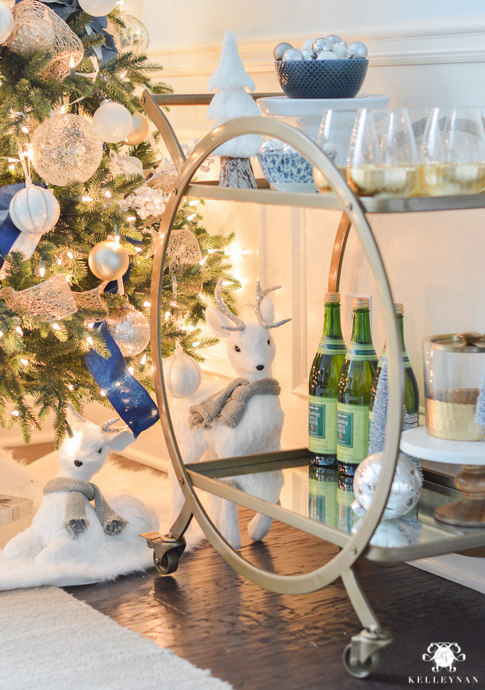 world-market-asher-bar-cart-in-dining-room-for-christmas