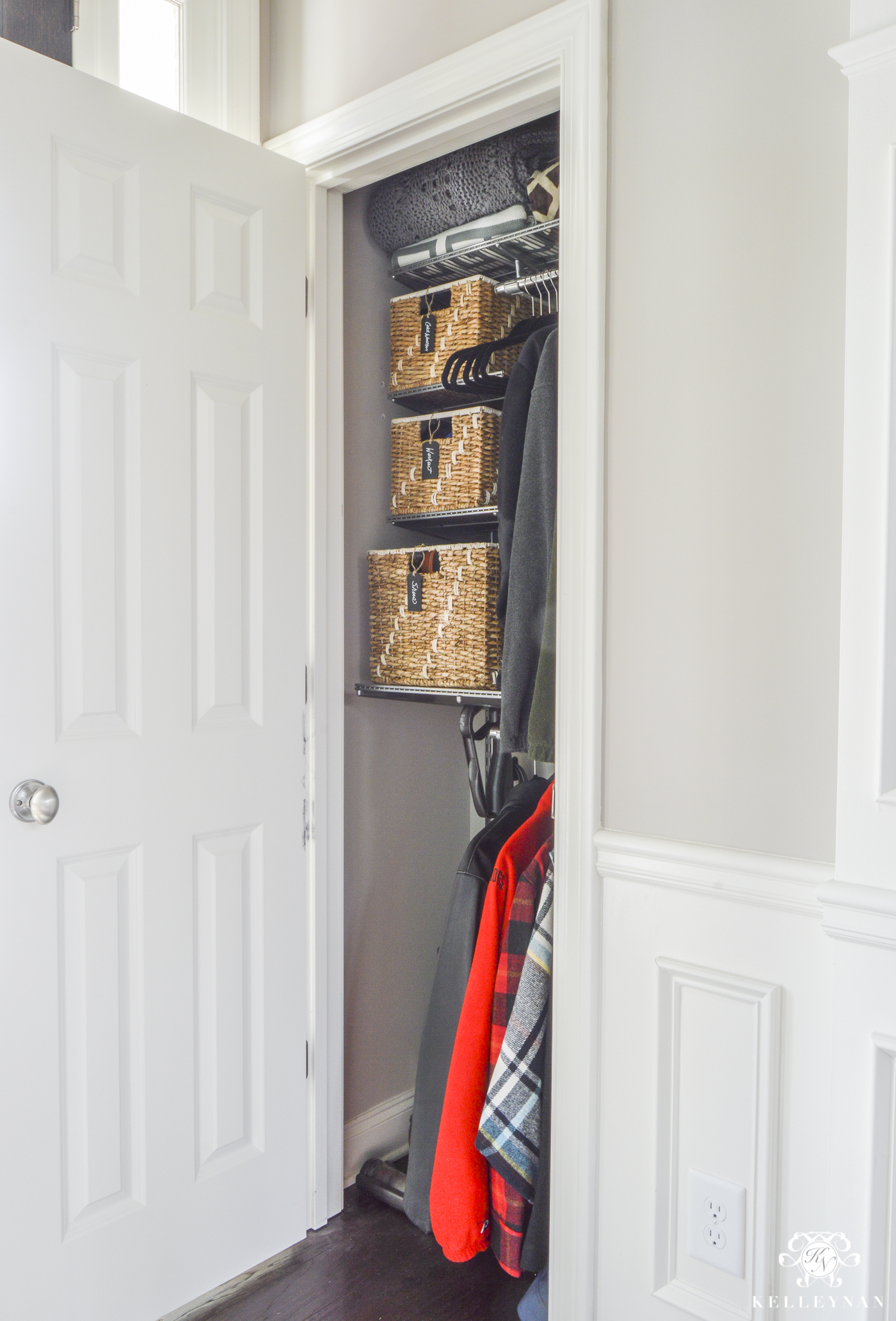Charmant ... Entire House But The Coat Closet Is A Good Place To Try It Out. I Love  To Get Mine At Costco Or, You Can Get Them On Prime HERE With Free Shipping.