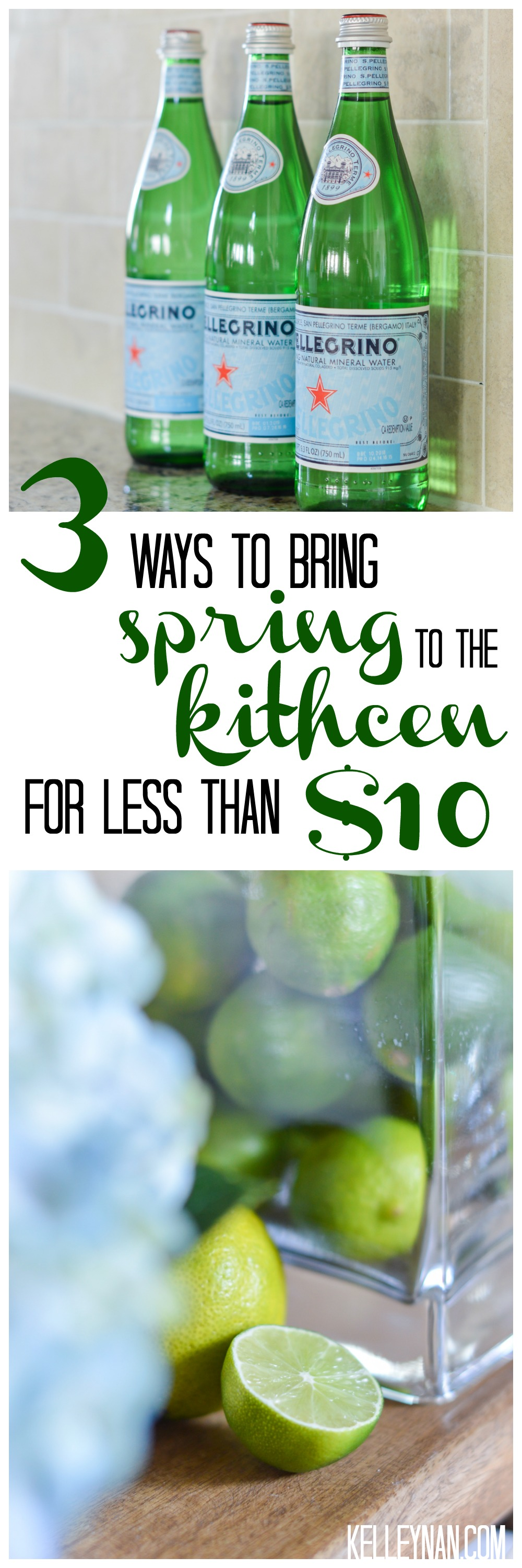 Three Ways To Bring Spring To The Kitchen For Less Than