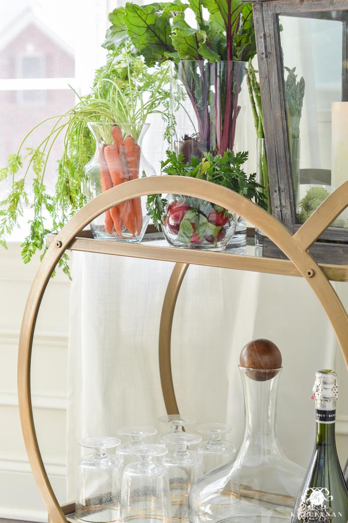 vegetable patch easter table kelley nan. Black Bedroom Furniture Sets. Home Design Ideas