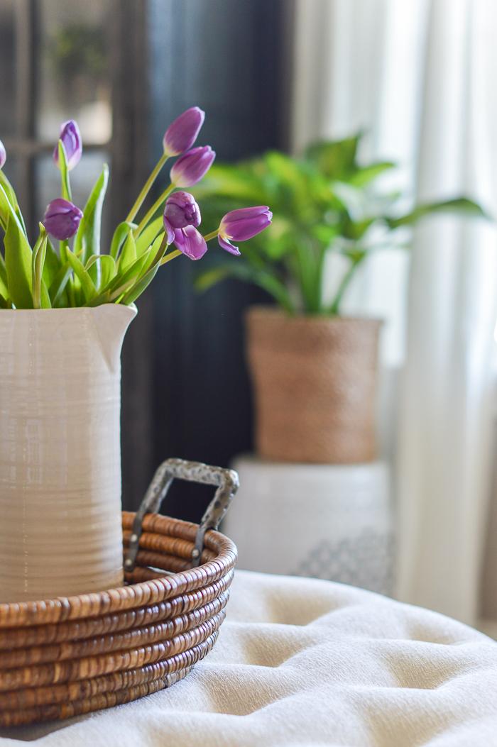 Wooden Flower Basket Plant Pot Storage Trays for Home Shop Decorations Diy