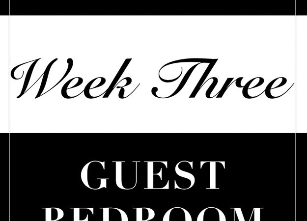 One Room Challenge: Week 3 Progress- Blue, White, and Wood All Over