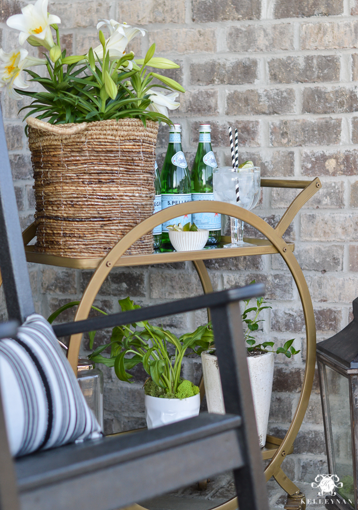 Restoration Hardware Outlet >> Spring in Full Swing: A Southern Rocking Chair Front Porch | Kelley Nan