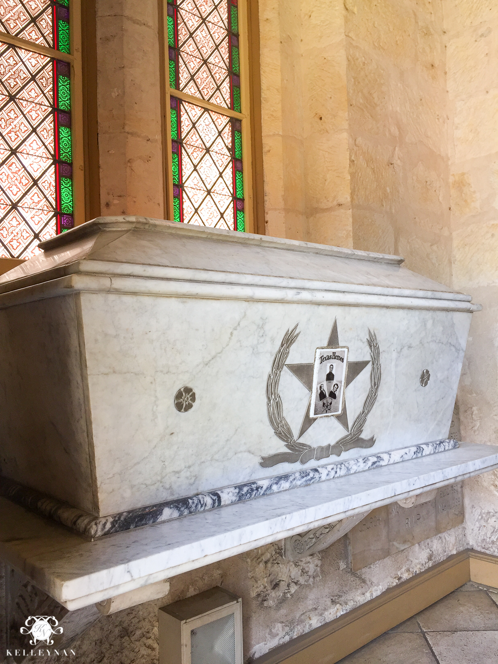 Texas Trip and San Antonio Fiesta Week-Alamo Tomb at San Fernando Cathedral