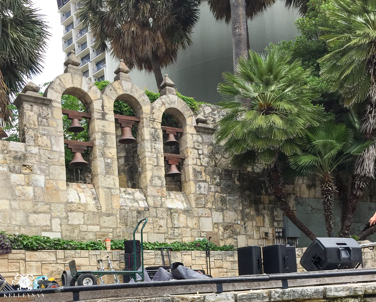 Texas Trip and San Antonio Fiesta Week-Miss Congeniality River Walk Stage