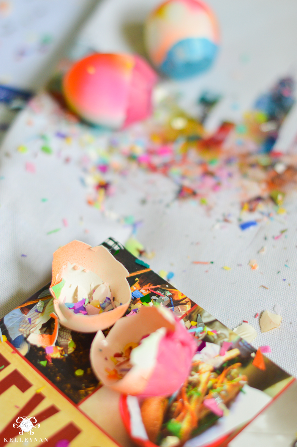Texas Trip and San Antonio Fiesta Week-cascarones and confetti eggs