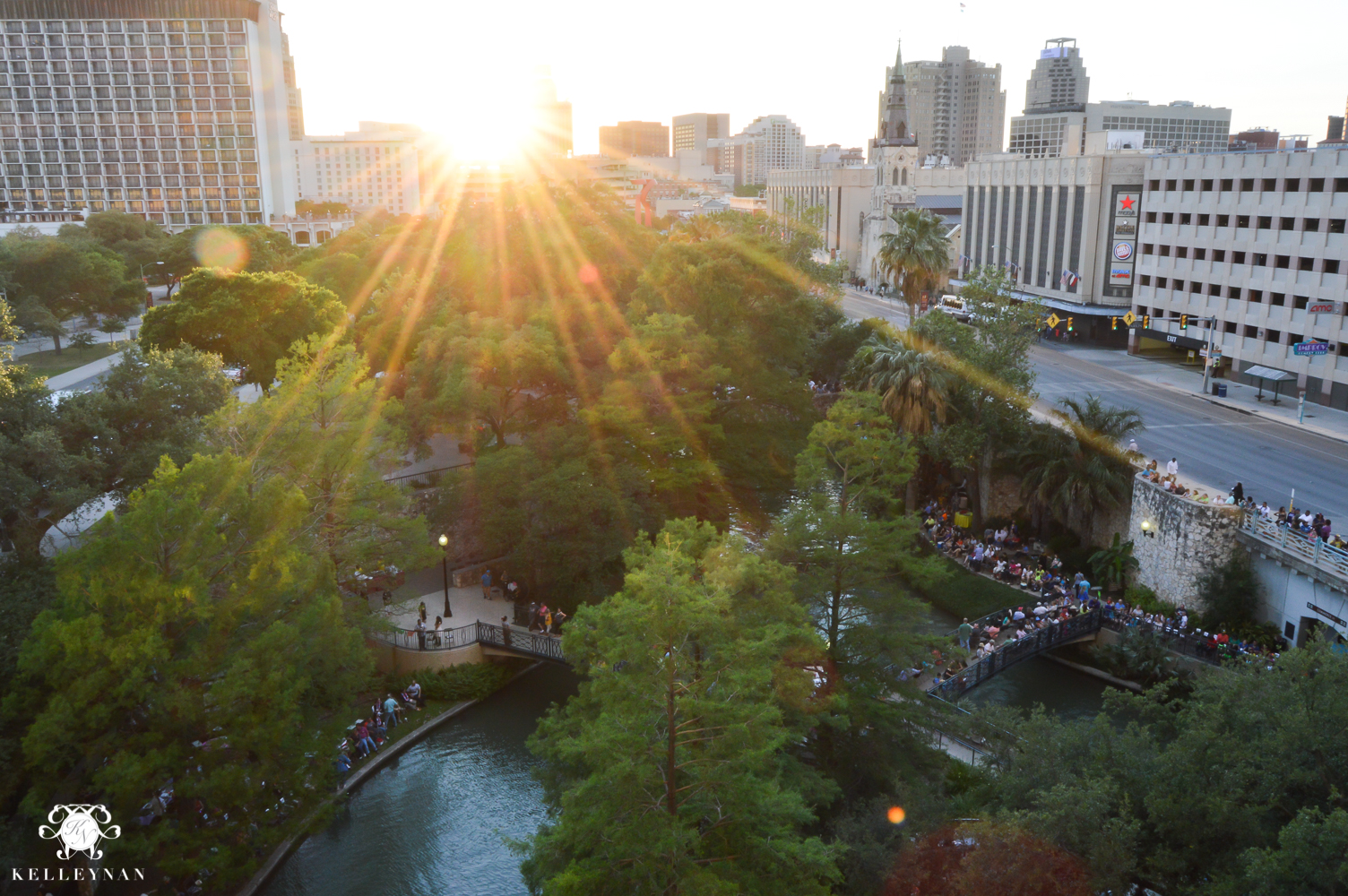 Texas Trip and San Antonio Fiesta Week-city view from Marriott River Walk