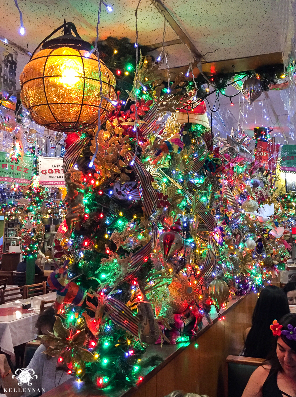 Texas Trip and San Antonio Fiesta Week-mi tierra decorations