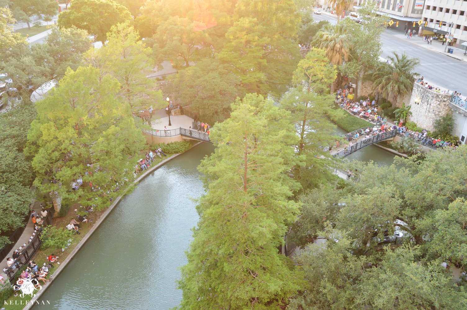 Texas Trip and San Antonio Fiesta Week-river float parade