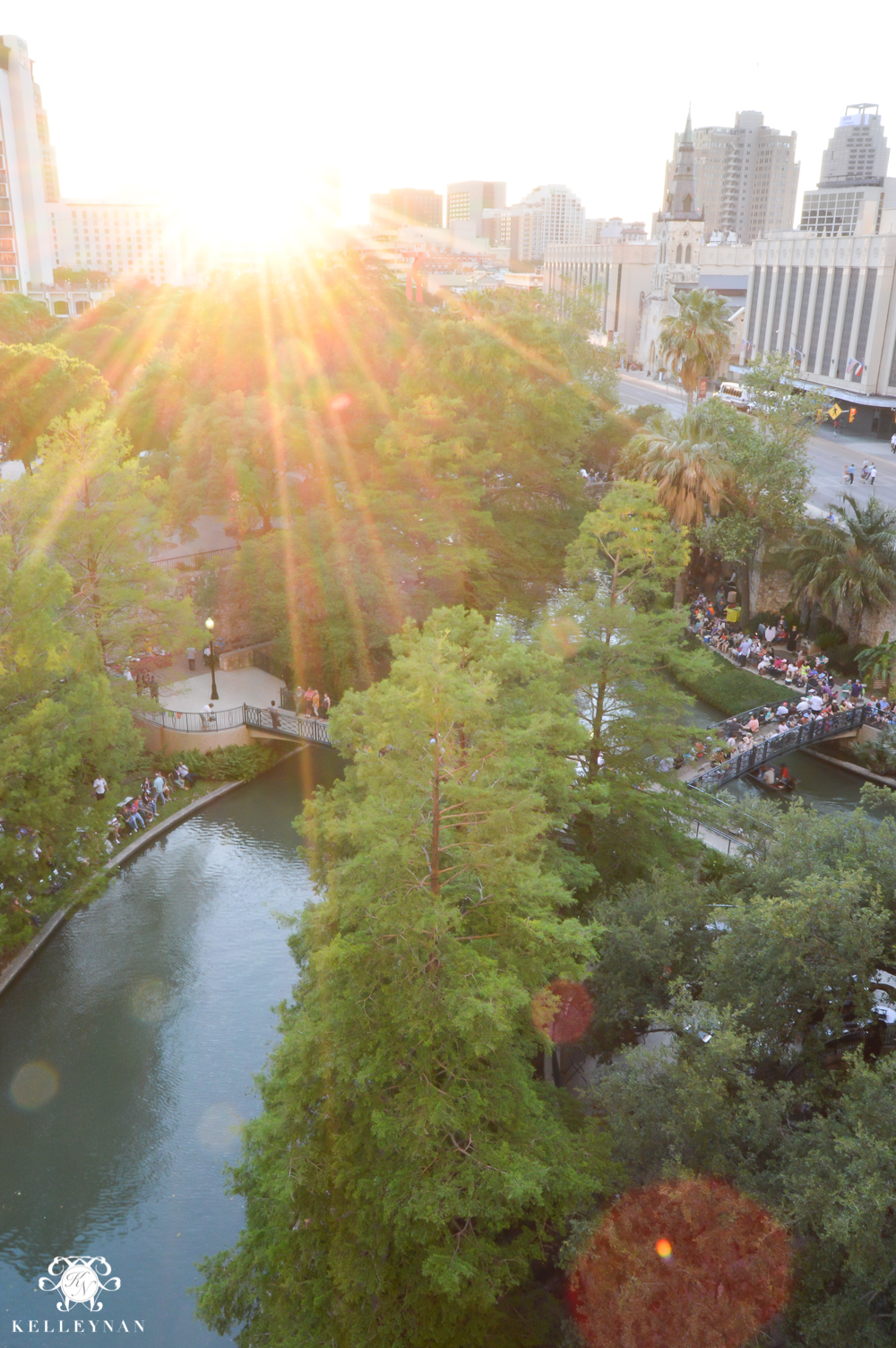 Texas Trip and San Antonio Fiesta Week-river parade