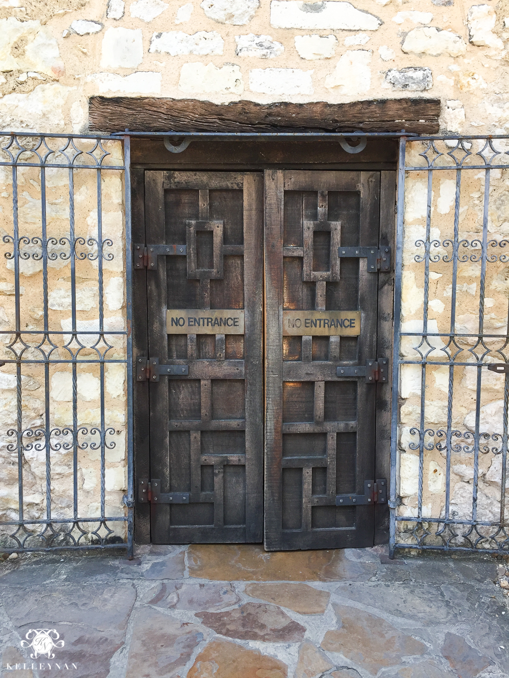 Texas Trip and San Antonio Fiesta Week-the alamo door