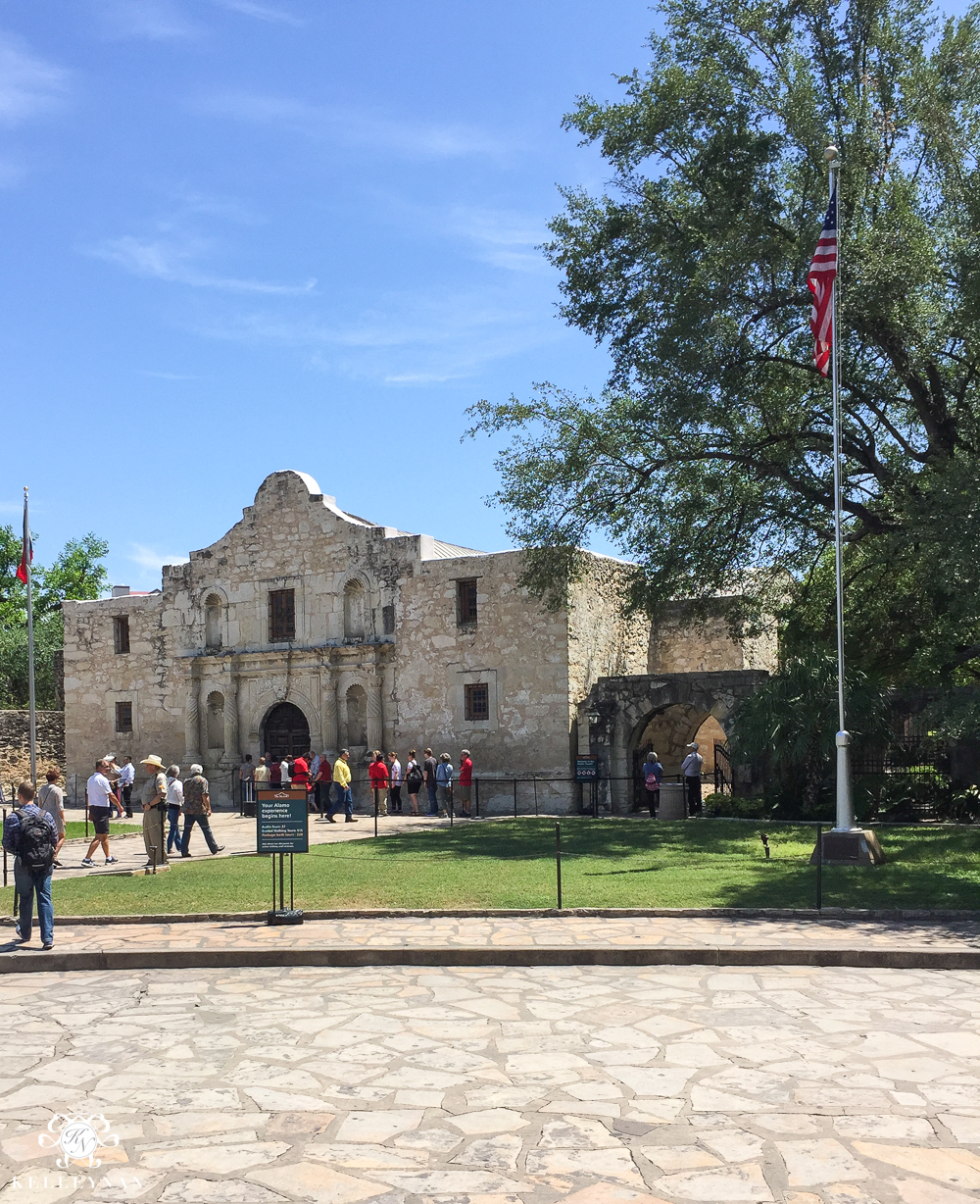Texas Trip and San Antonio Fiesta Week-the alamo