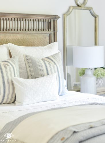 One Room Challenge- Classic Blue and White Guest Bedroom Reveal