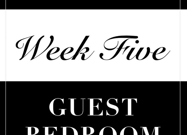 One Room Challenge: Week 5 Progress- The Finish is Near But I Am Not