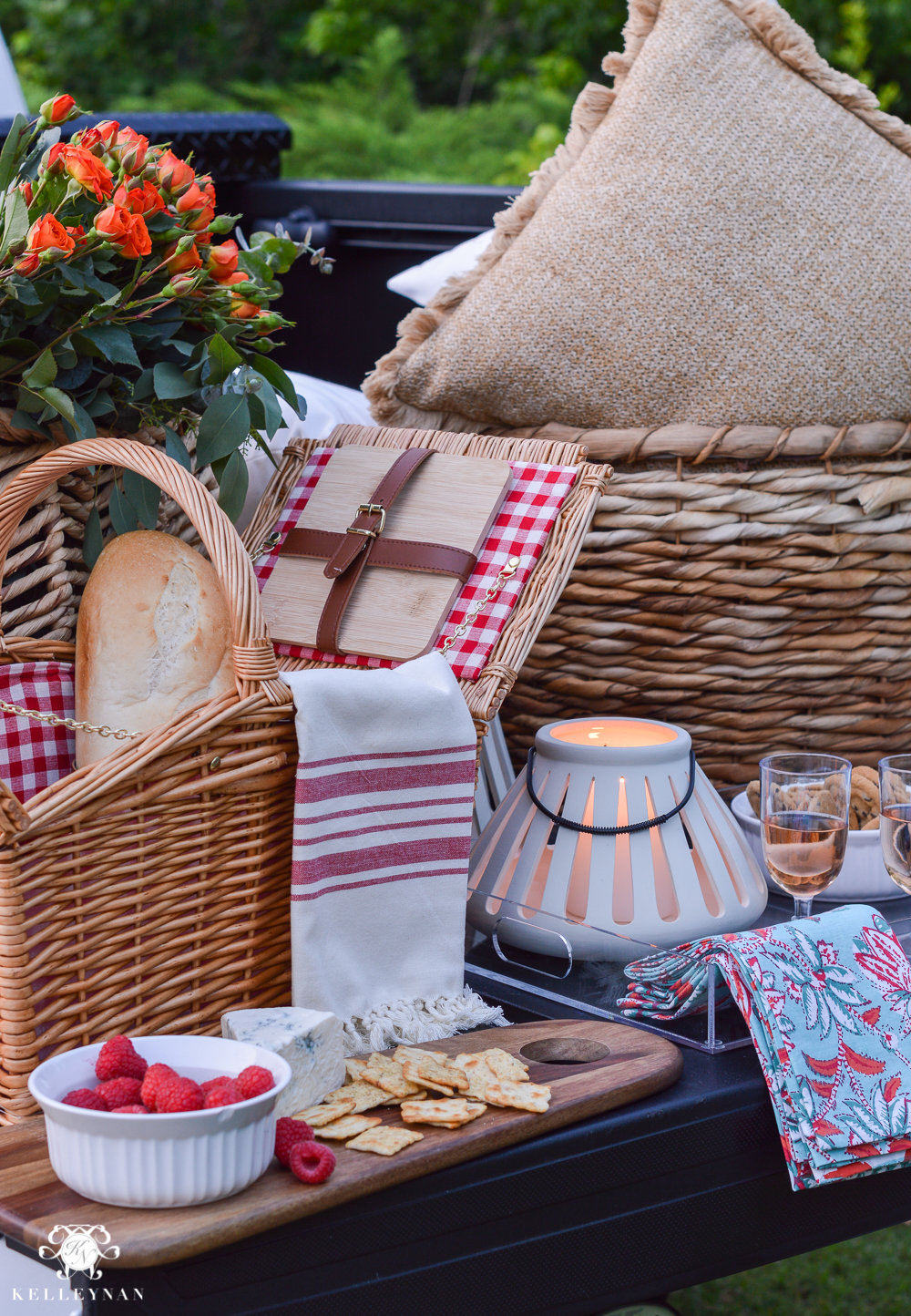 Picnic and Tailgate Ideas and Setup- fancy tailgate ideas