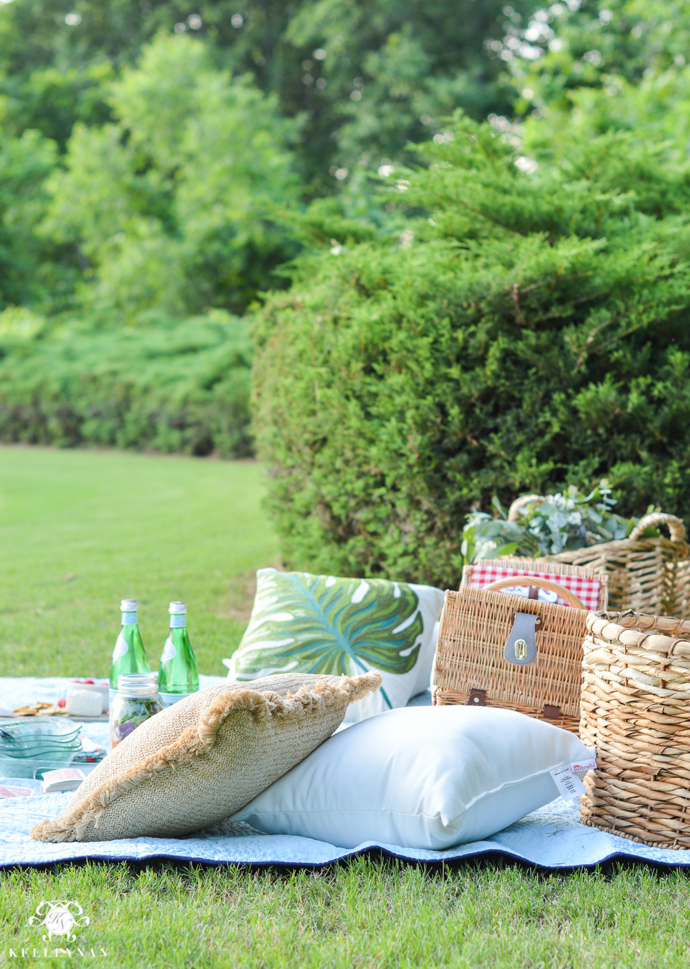 Picnic and Tailgate Ideas and Setup- summer date night