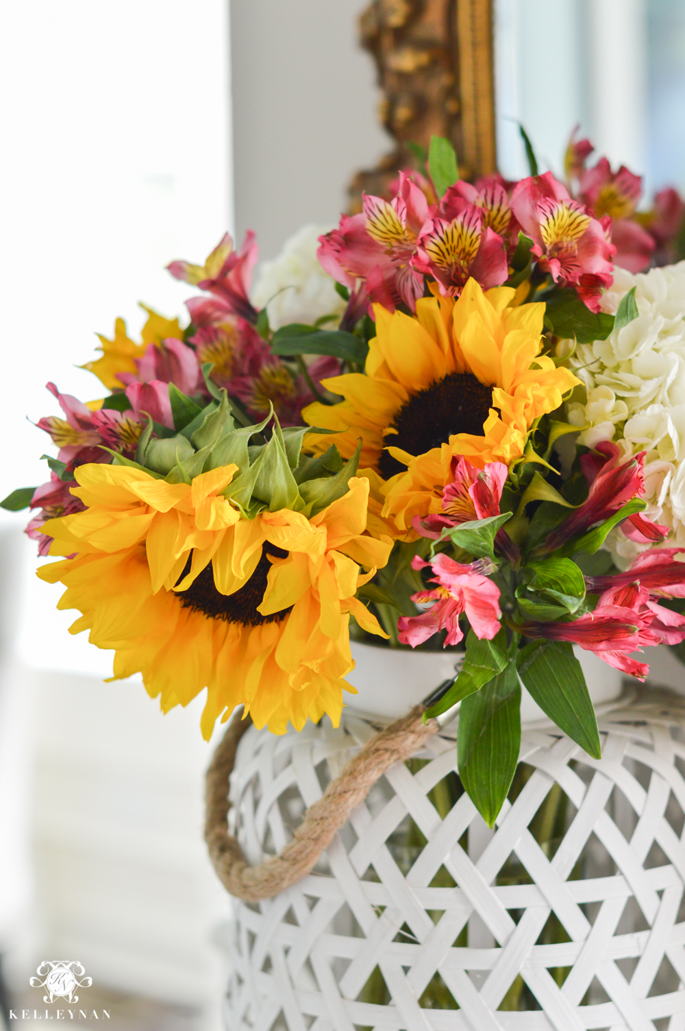 Sunflower arrangement designs new best table