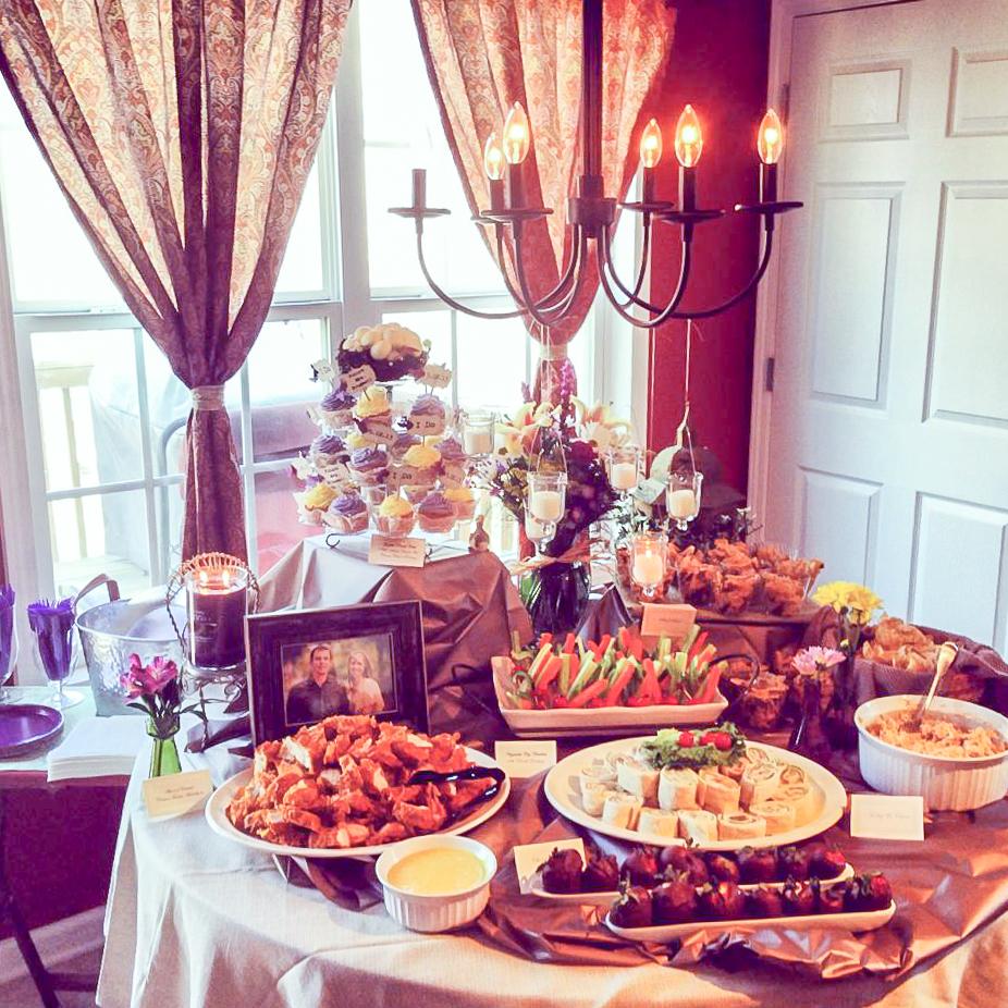 Ideas to Throw an Indoor Garden Party Bridal Shower - Kelley Nan