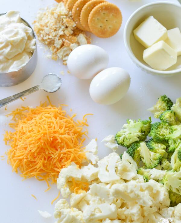 FEATURE- Easy Favorite Broccoli Cauliflower Casserole Recipe