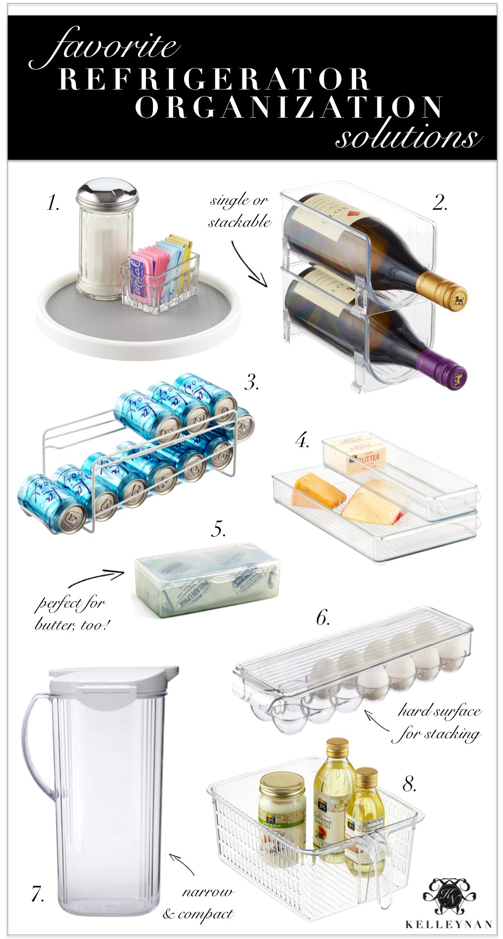 Facorite Fridge Organization Solutions and Ideas