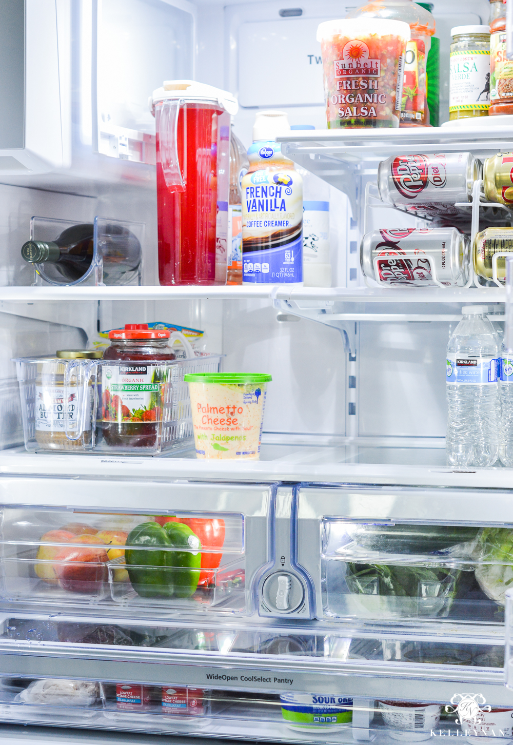 Refrigerator Organization and Best Ways to Organize the Fridge- before and after