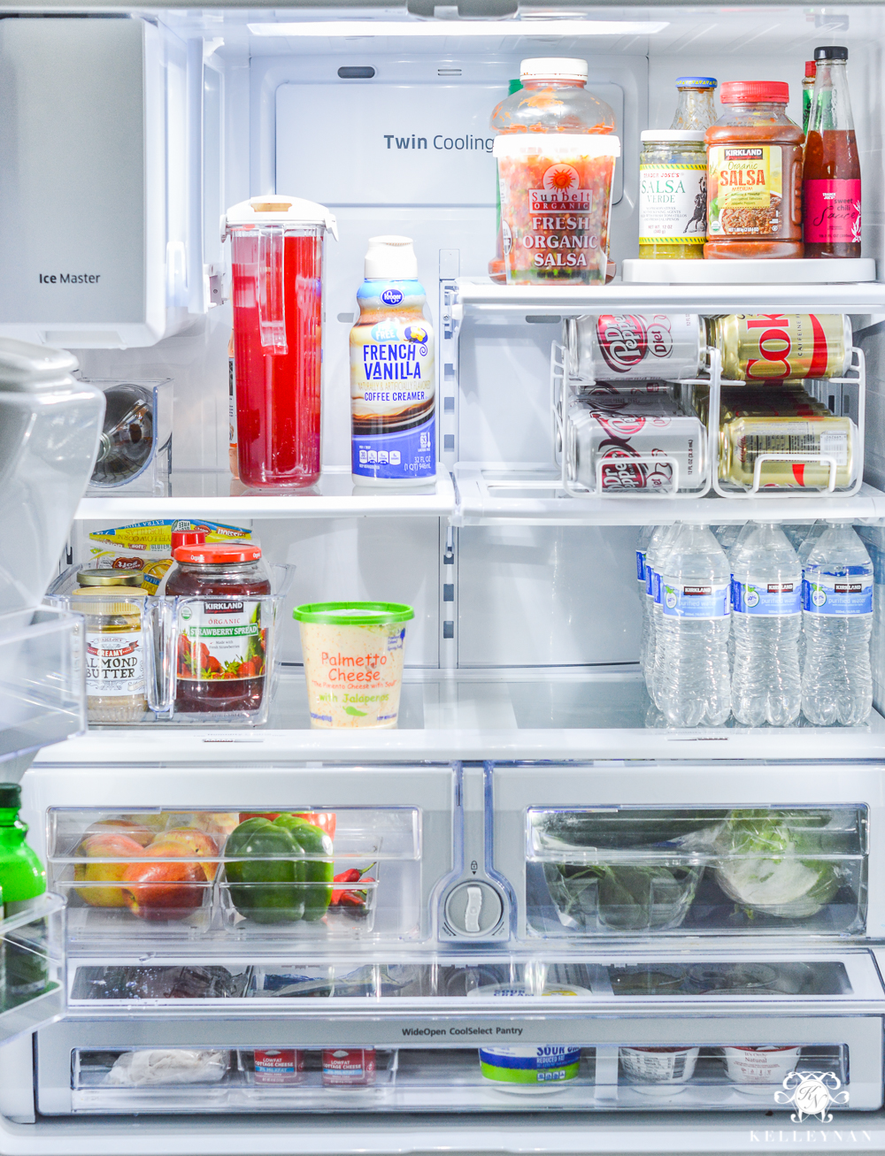 Refrigerator Organization and Best Ways to Organize the Fridge- cleaned out transformation