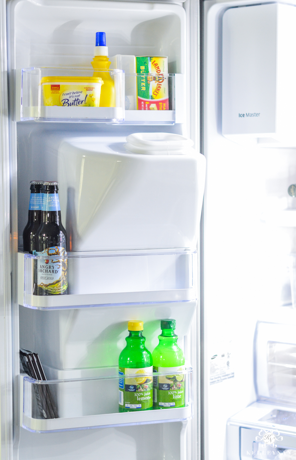 Refrigerator Organization and Best Ways to Organize the Fridge- door organization