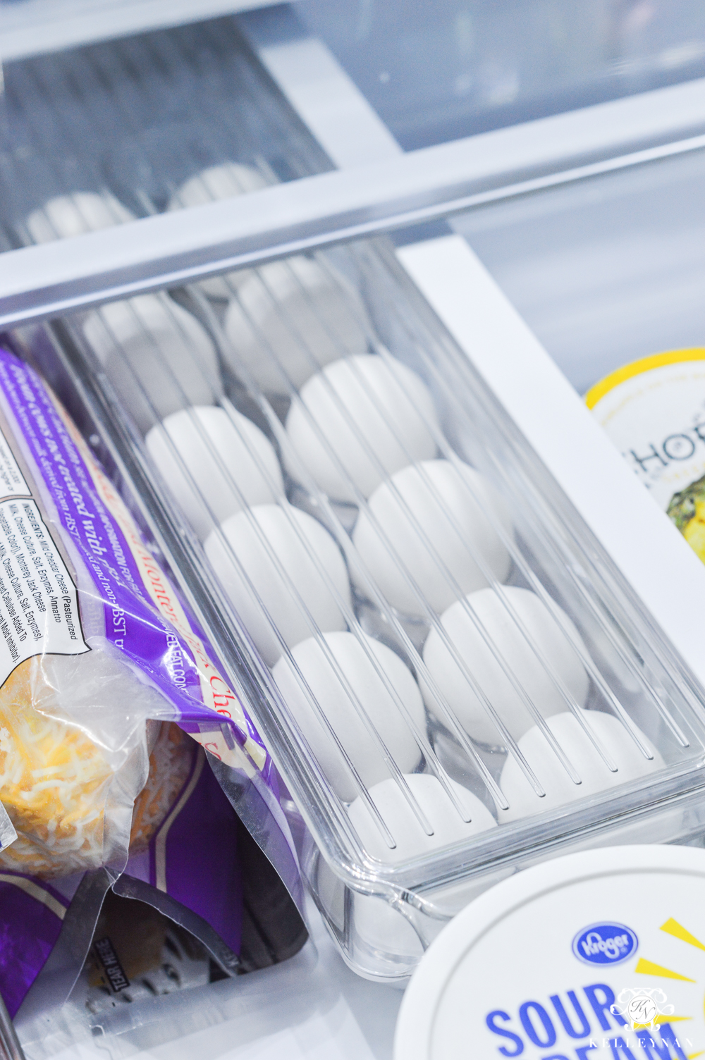 Refrigerator Organization and Best Ways to Organize the Fridge- plastic egg carton