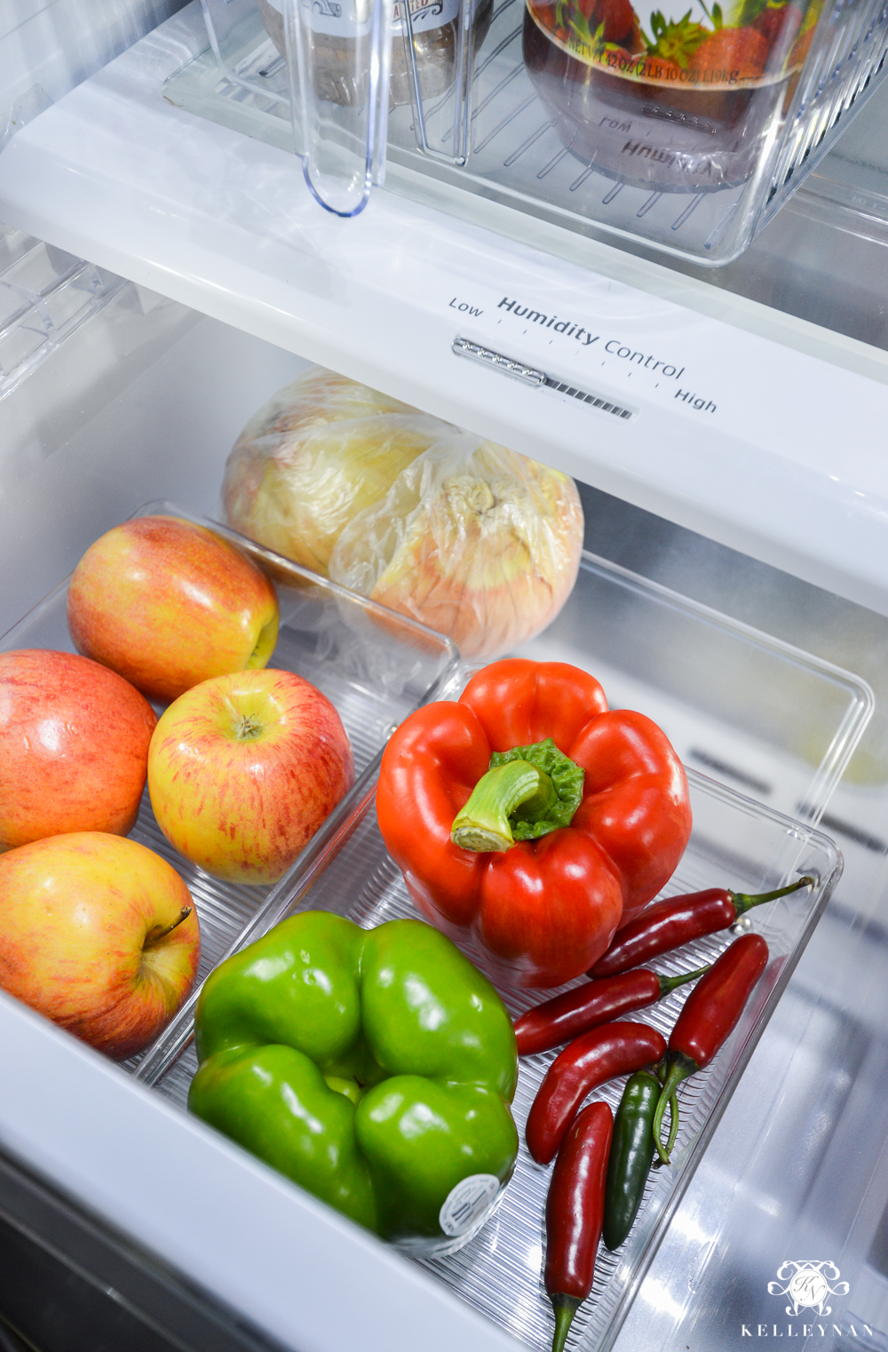Refrigerator Organization and Best Ways to Organize the Fridge- produce drawers