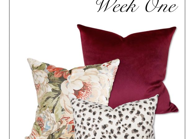 Master Bedroom Makeover- One Room Challenge: Week 1
