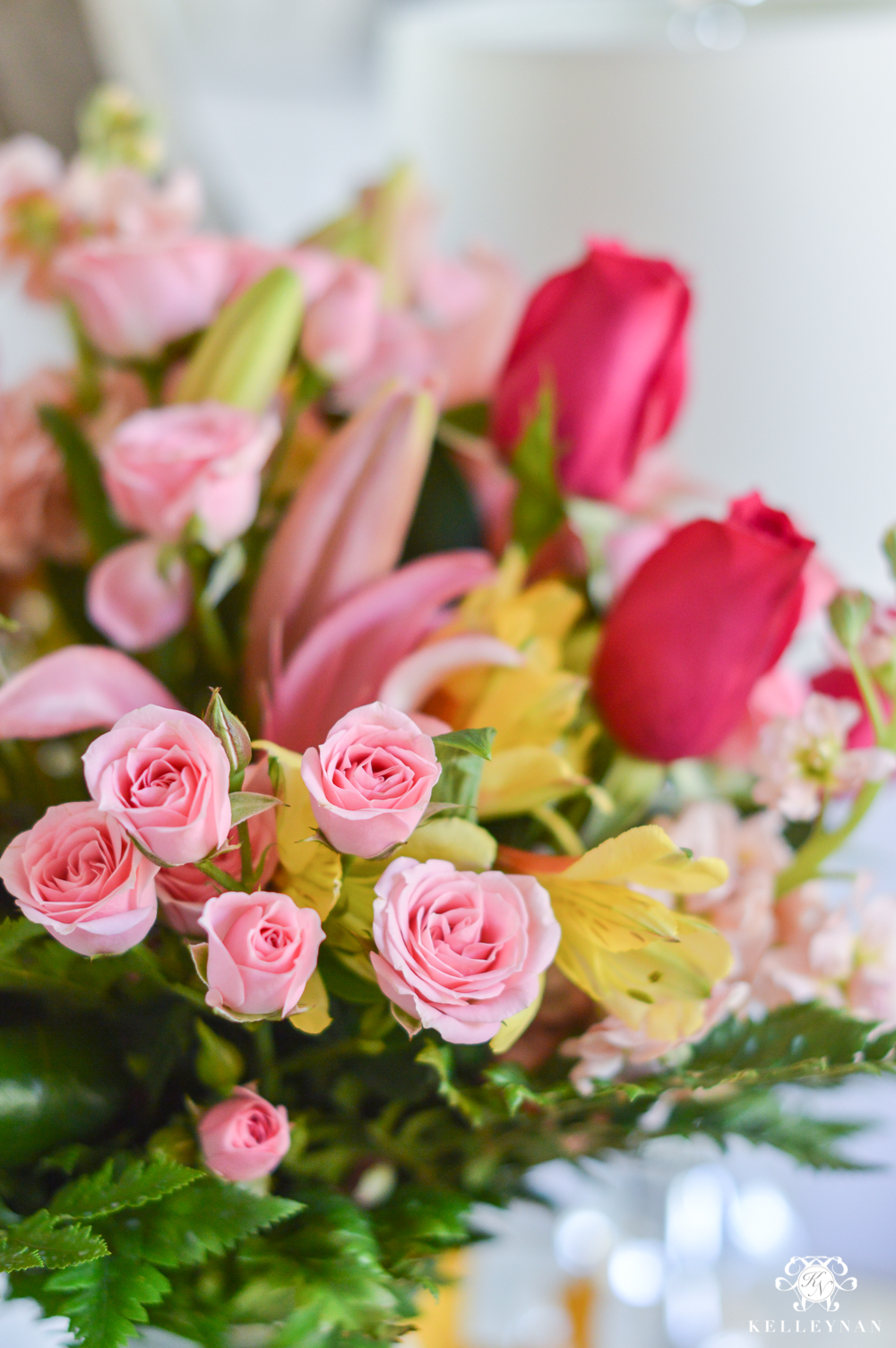 Roses and lilies from FTD