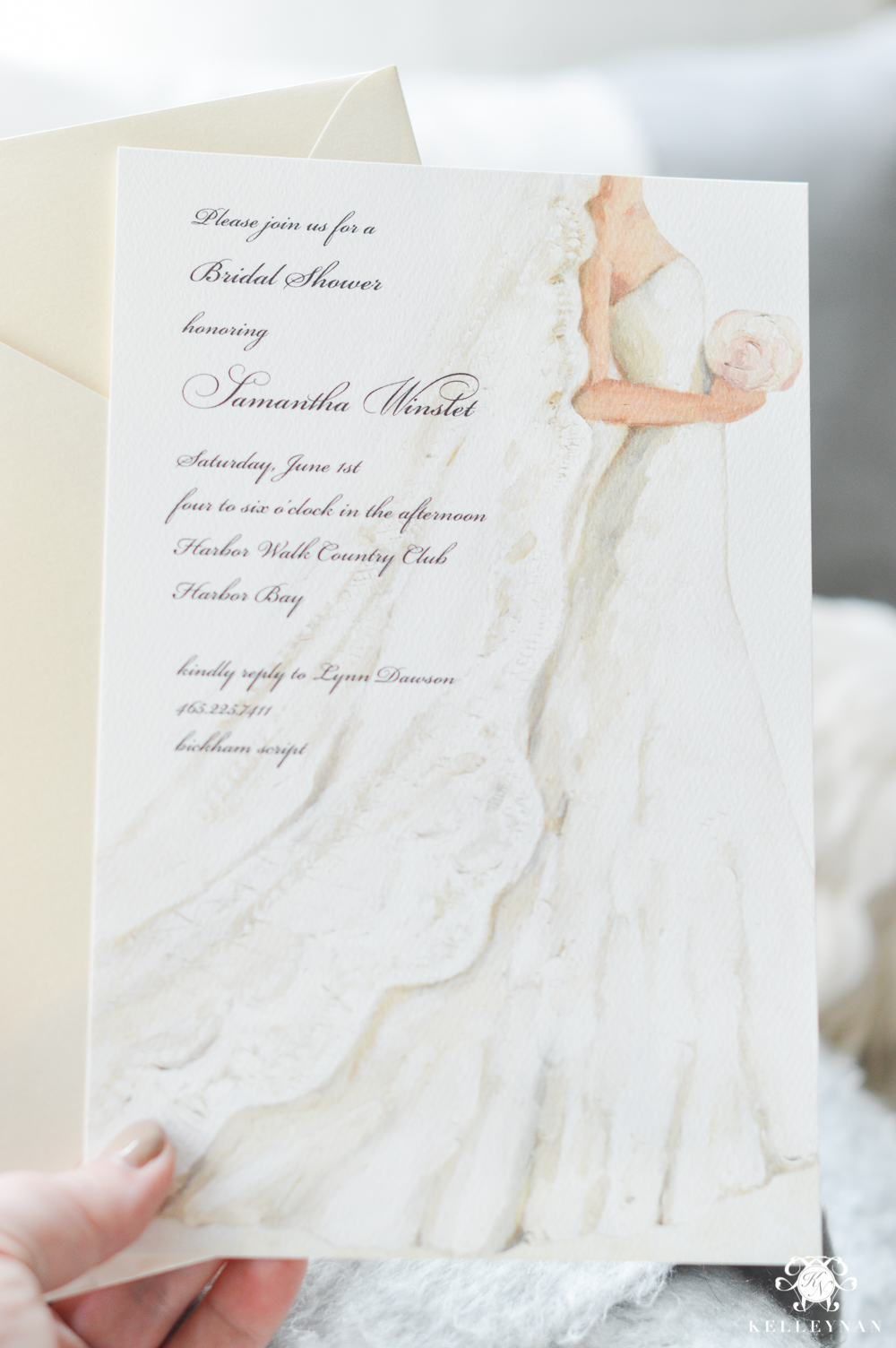 Beautiful Bridal shower invitation ideas