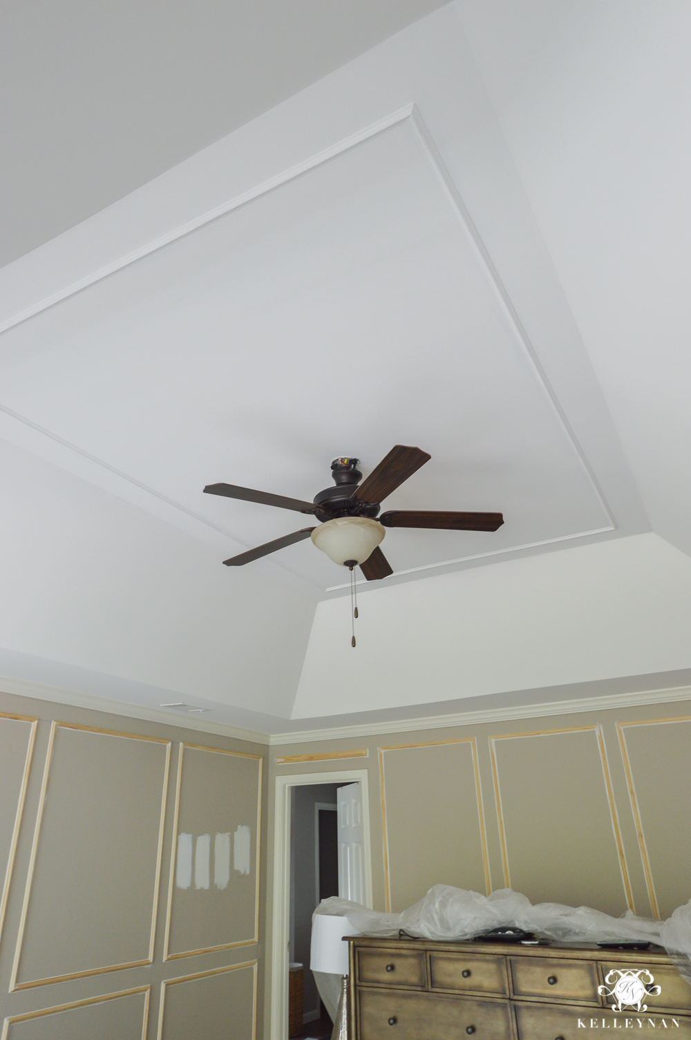 Tray Ceiling trim with Metrie molding