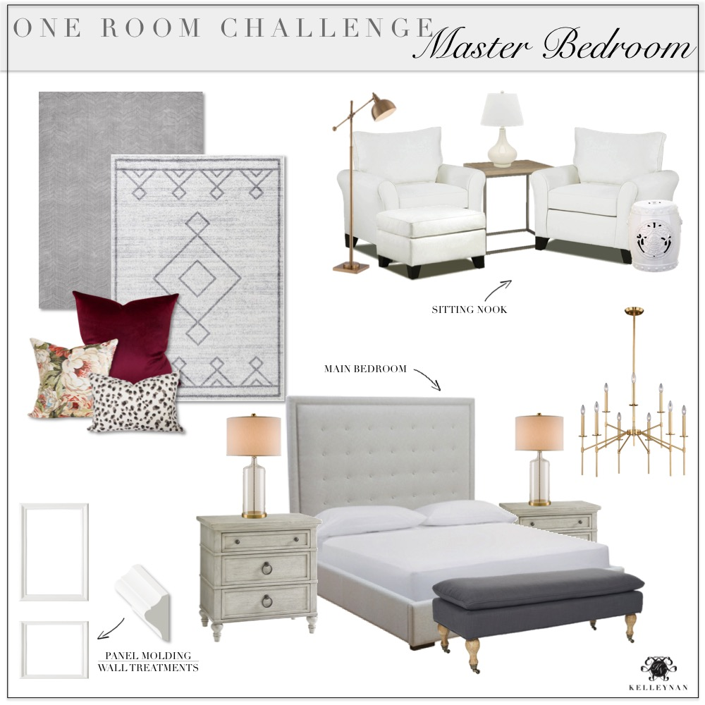 100 One Room Challenge Master Bedroom