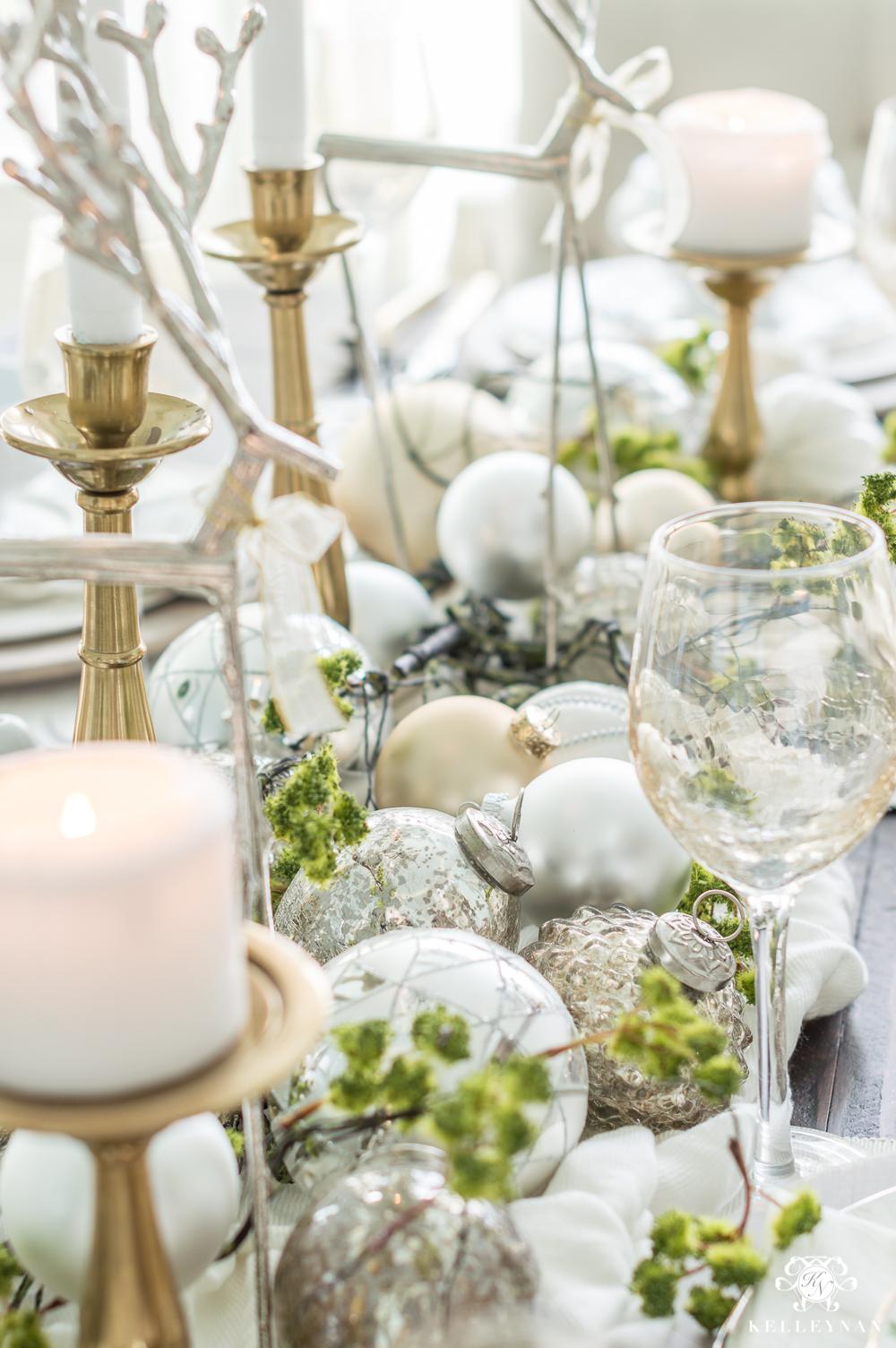Elegant Christmas tablescape centerpiece ideas and inspiration