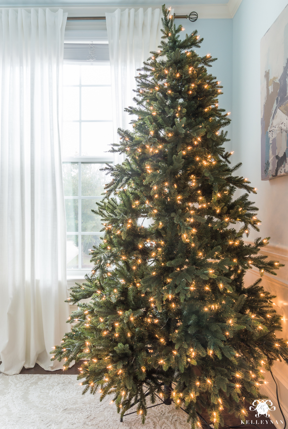 How To Decorate A Christmas Tree From Beginning To End