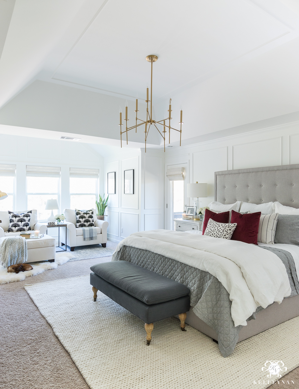 One Room Challenge Master Bedroom Makeover Reveal Kelley Nan
