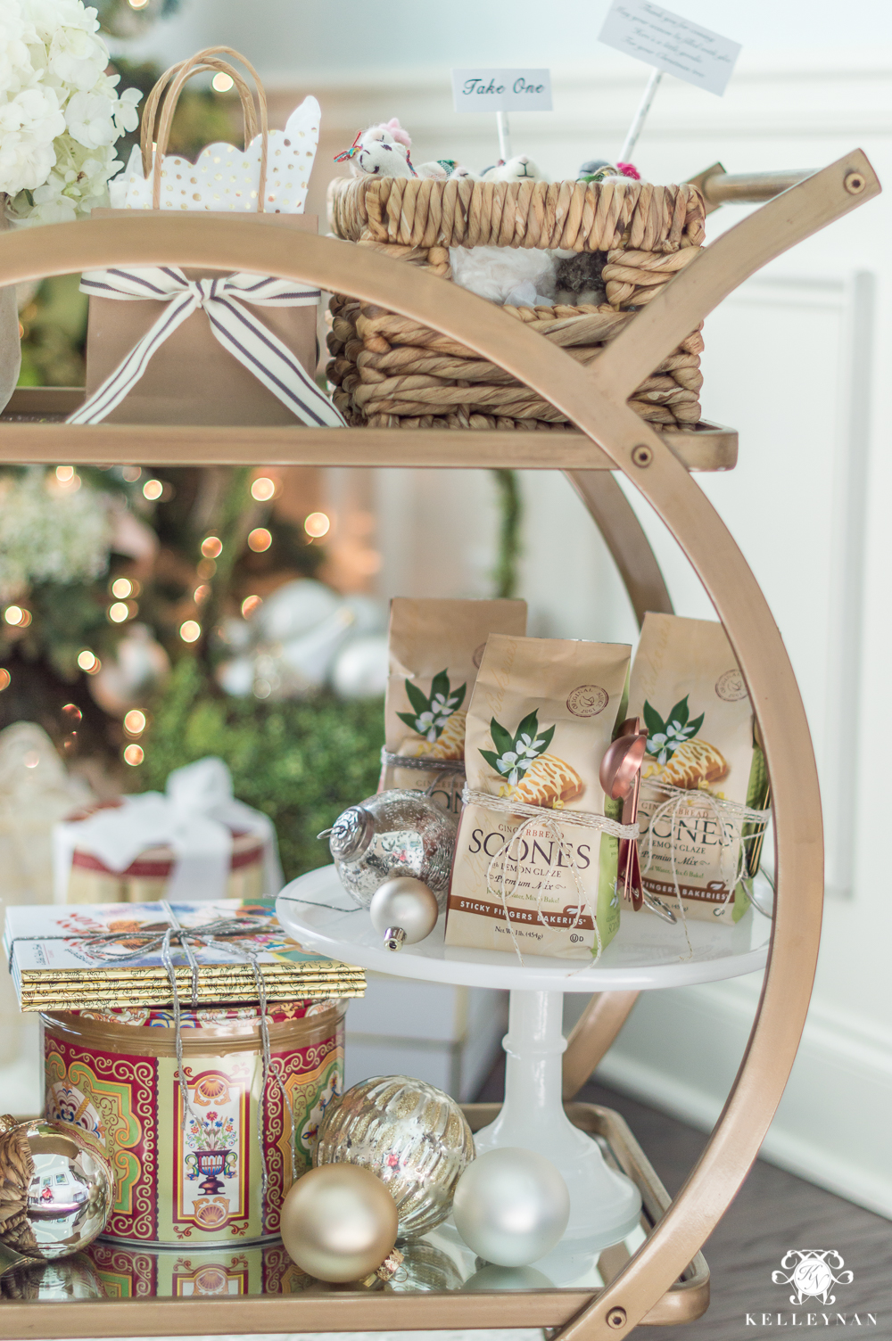 Holiday gift styling ideas