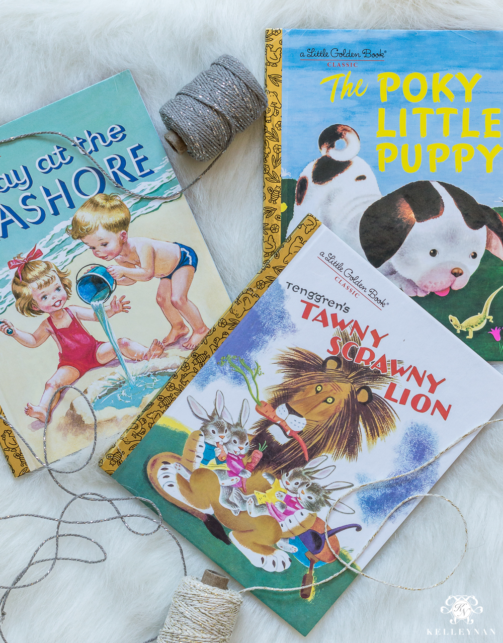 Little golden books as a perfect child neighbor gift