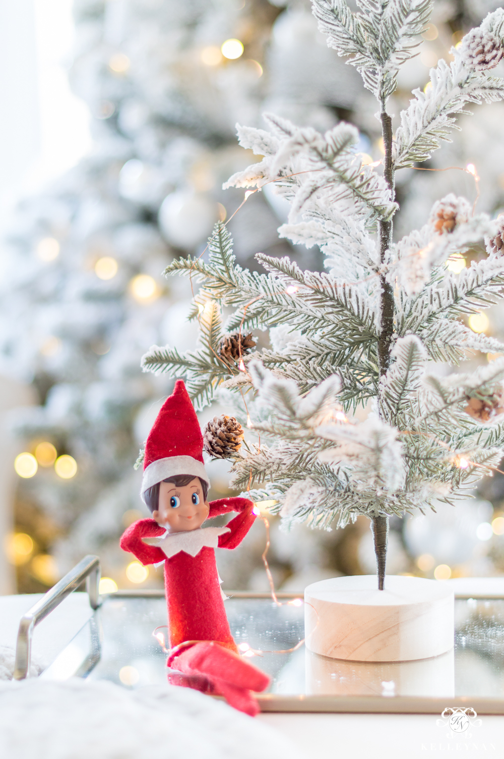 grownup elf on the shelf ideas for adults a new and unique christmas tradition - Christmas Shelf Decorations