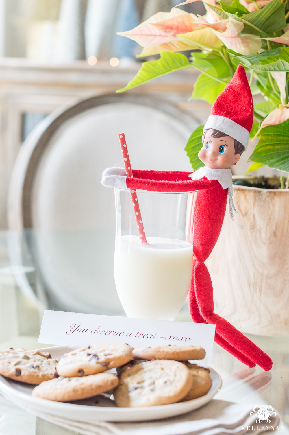 Elf on the Shelf ideas for grownups- a fun holiday tradition for adults