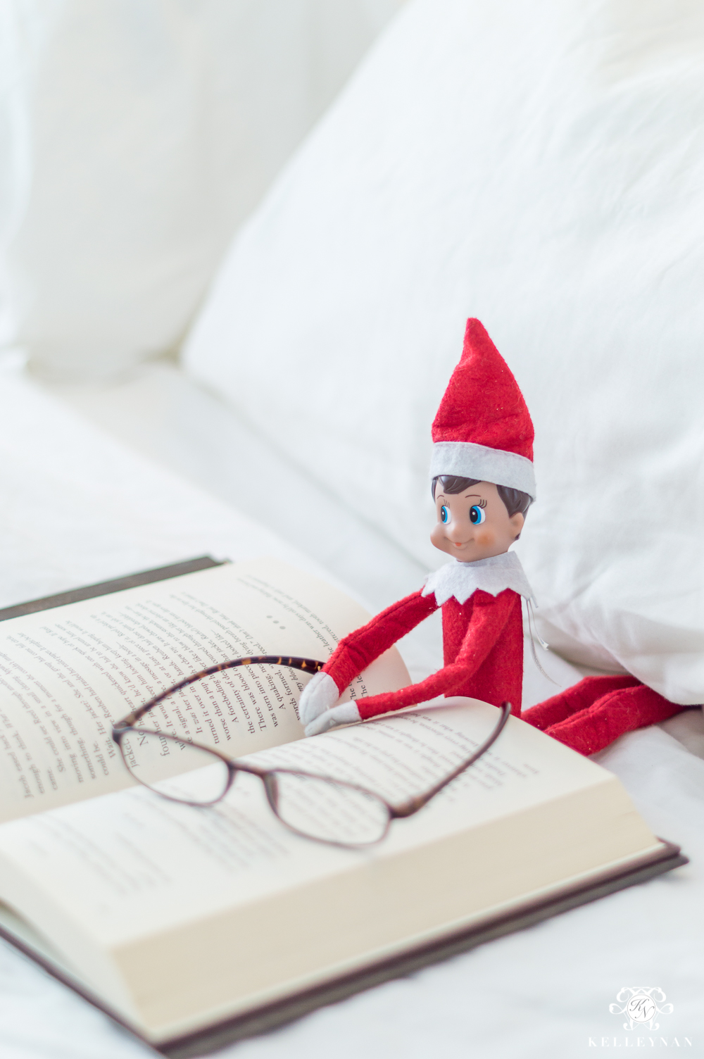Elf on the shelf ideas- a new book before Christmas