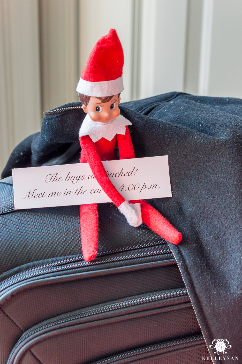 Elf on the shelf surprise getaway for adults