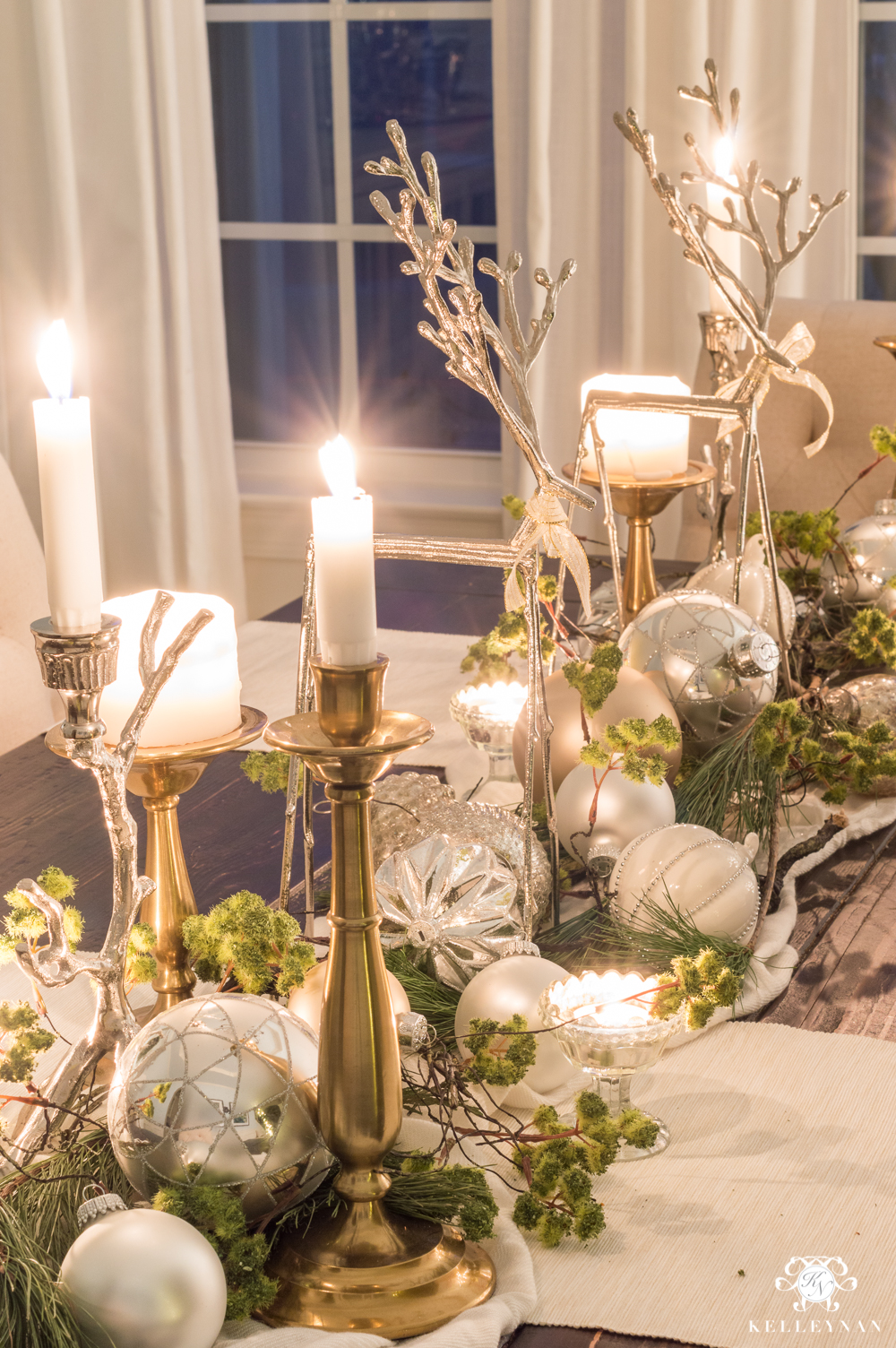 Christmas dining room table decor ideas