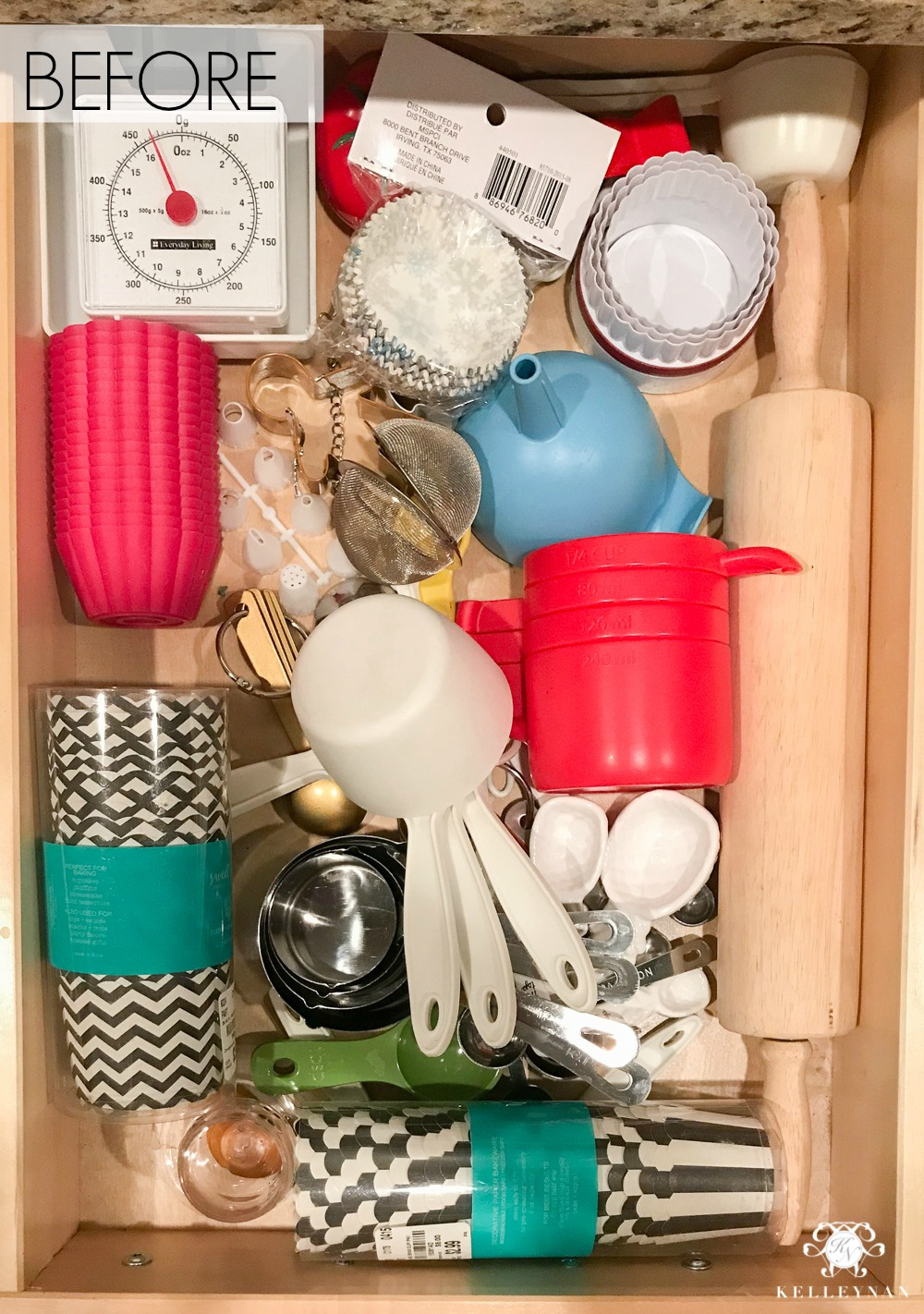 Organized Baking Drawer Ideas
