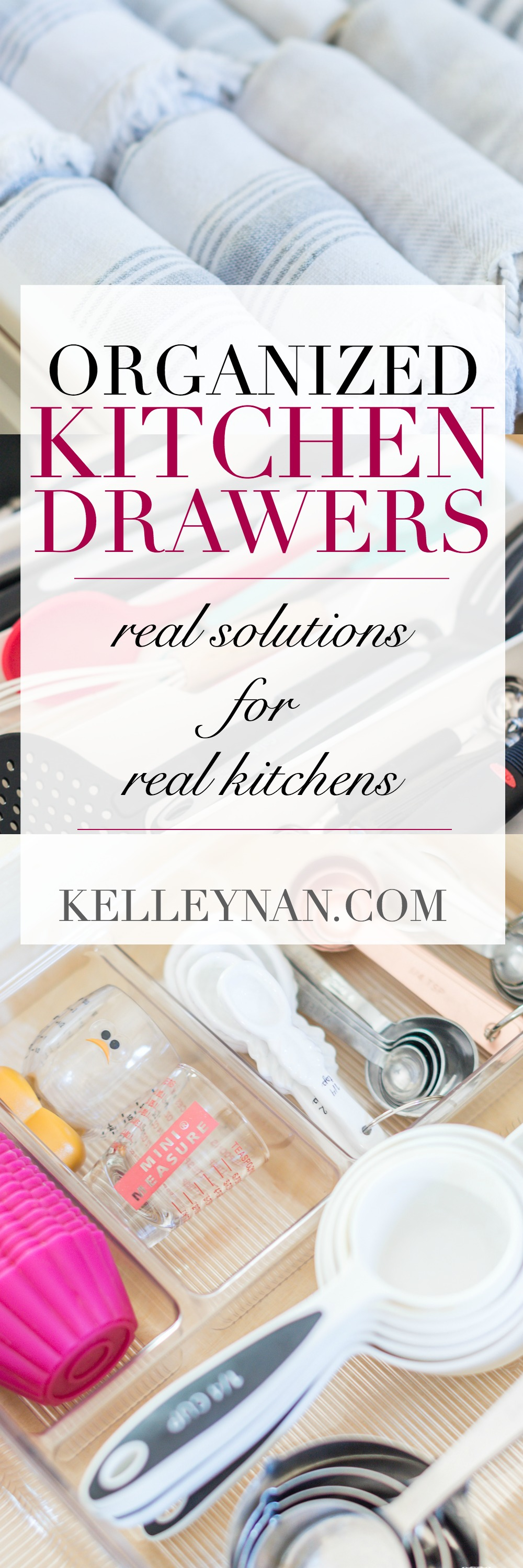 KITCHEN ORGANIZATION IDEAS WITH FAVORITE AFFORDABLE DRAWER ORGANIZERS