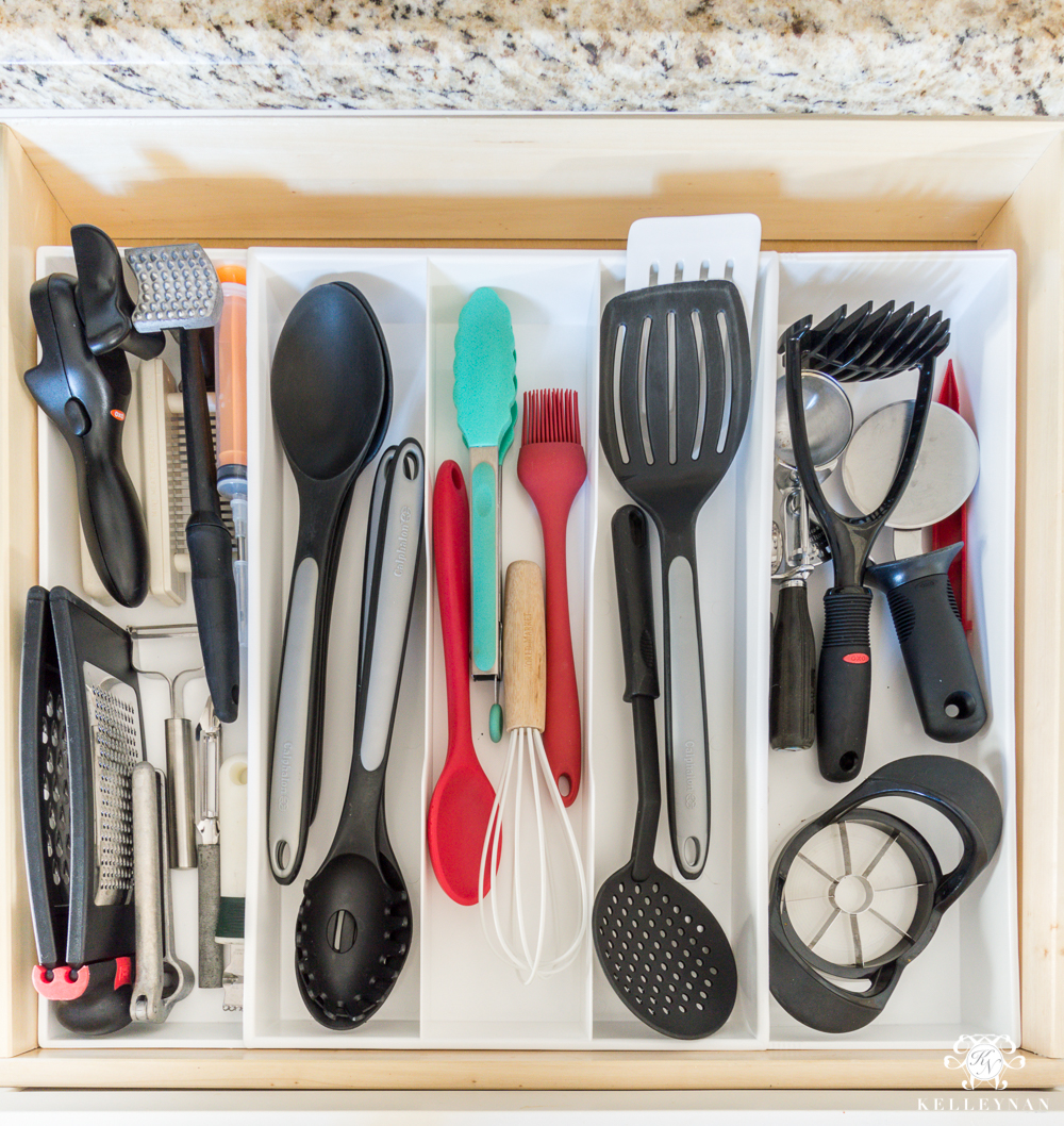 Best organization solution for kitchen utensils with the best drawer organizer