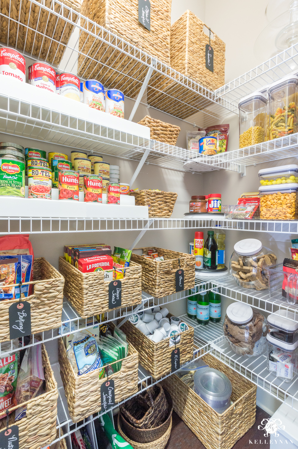 Food storage in a small kitchen