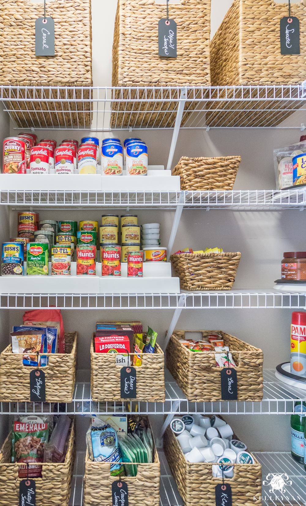 Pantry organization solutions and what to clean out