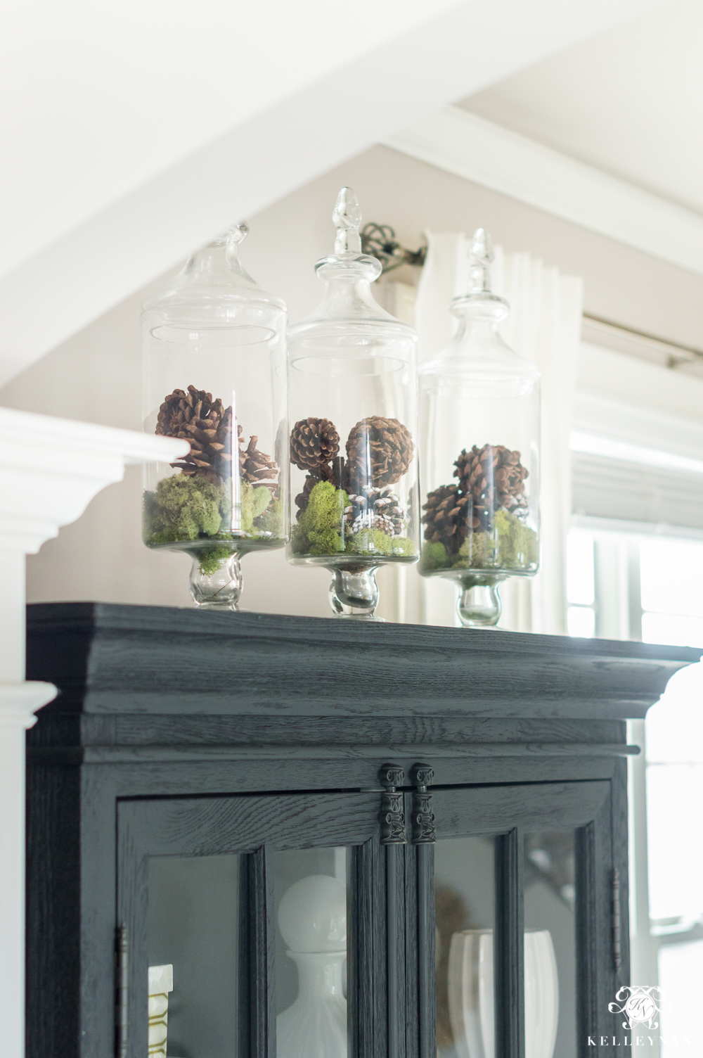 Apothecary jar styling ideas